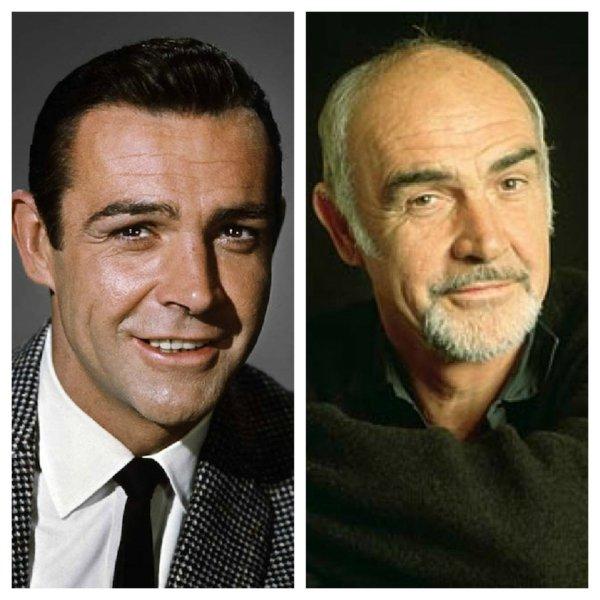 krasivi i izvestni maje predi i sled Sean Connery