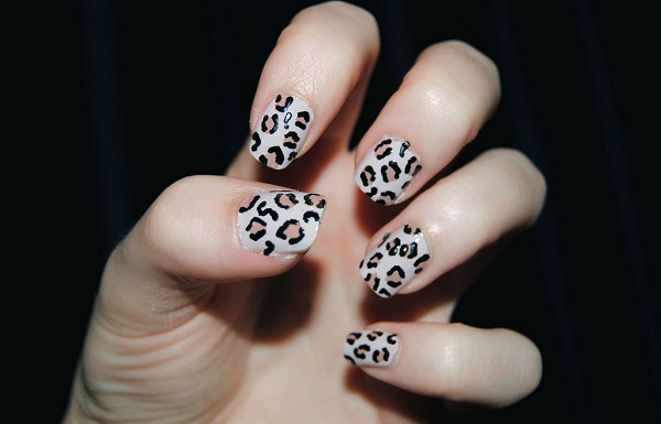 leopardov manikur idei