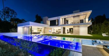 Луксозна къща в съвременен стил