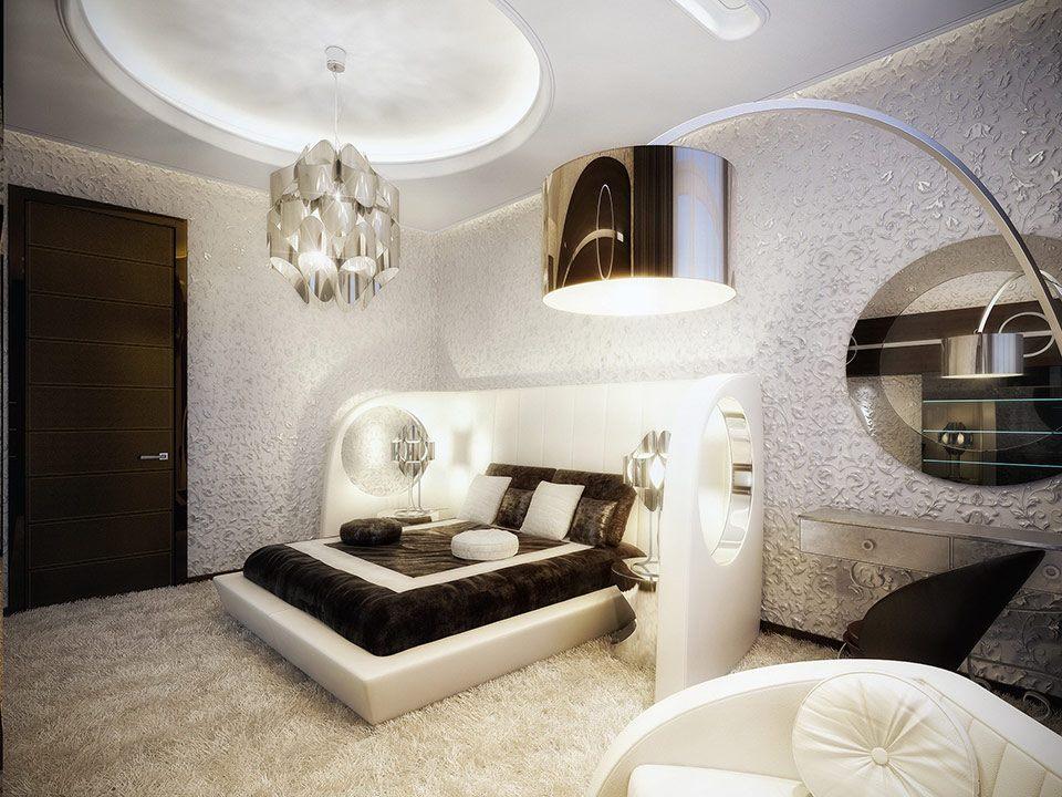 luksozni moderni spalni