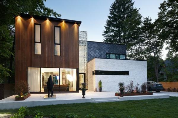moderna kashta dvor arhitektura