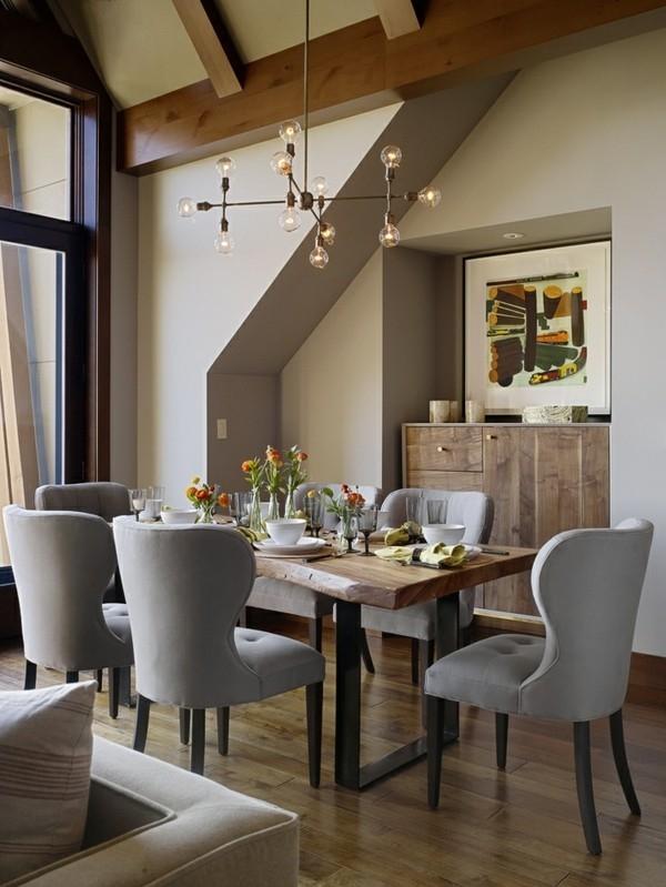 moderni beli stolove za trapezariq elegantni darvena masa