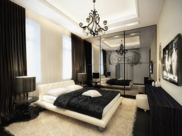 moderni luksozni spalni cheren bql cvqt