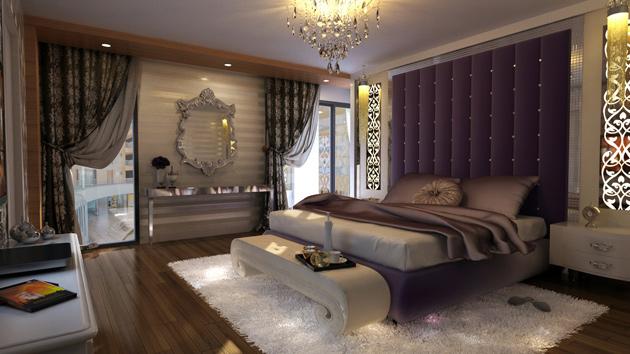 luksozni moderni spalni vintage