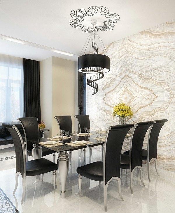 moderni stolove za trapezariq cherni