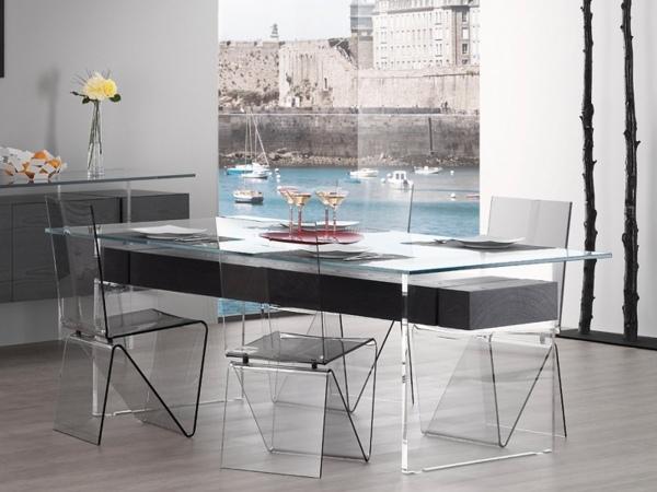 moderni stolove za trapezariq prozrachni