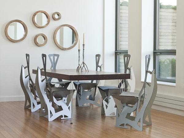 moderni unikalni stolove za trapezariq ideq