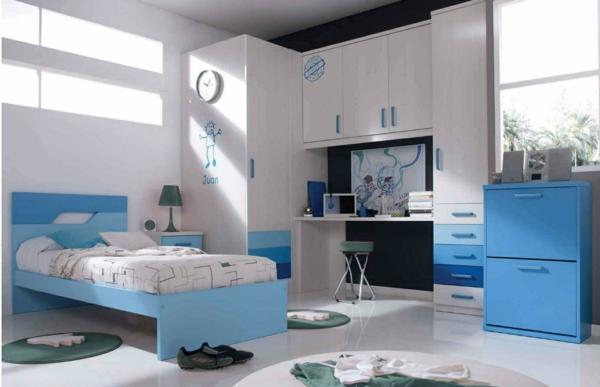 детска стая в синьо за момчета интериорен дизайн идеи