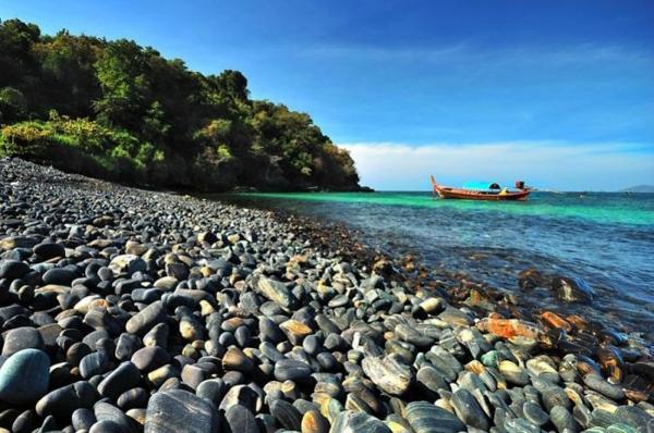 plaj krasiv po sveta ostrov ko hin