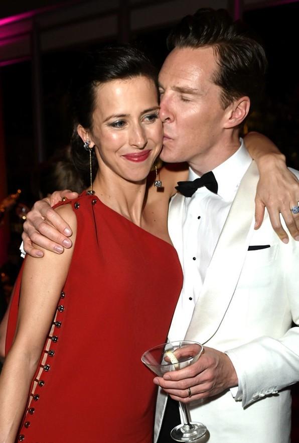 nai-zabavnite  ot oskar partito na vanity fair Benedict Cumberbatch Sophie Hunter
