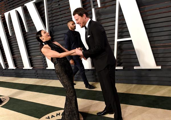 nai-zabavnite momeni ot oskar partito na vanity fair Channing Jenna Dewan