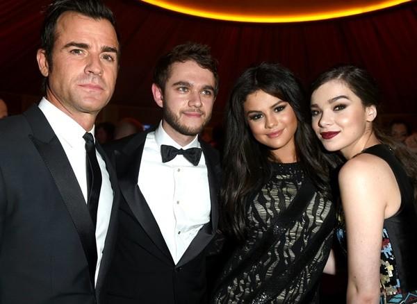 nai-zabavnite momeni ot oskar partito na vanity fair Justin Theroux DJ Zedd Selena Gomez Hailee Steinfeld