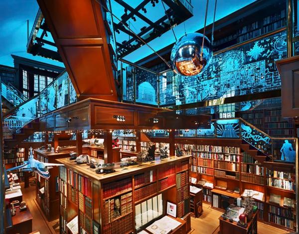 naj-vnushitelnite biblioteki po sveta darvo