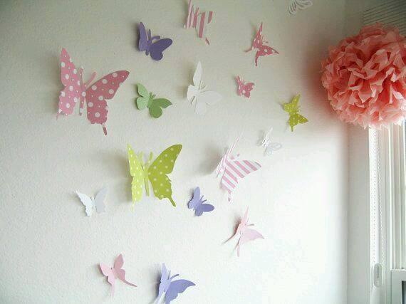 napravi si sam neveroqtna 3d ideq cvetni peperudi