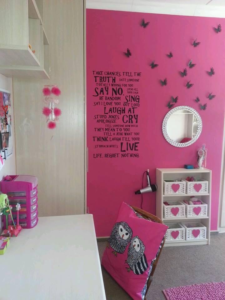 napravi si sam neveroqtna 3d ideq rozova stena