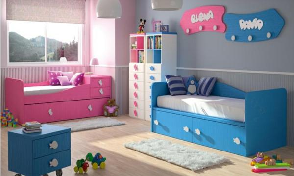 обзавеждане детска стая за момче и момиче интериор идеи