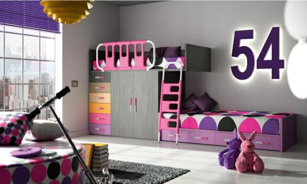 обзавеждане детска стая за две момичета интериор