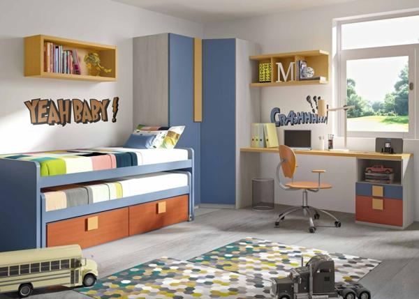 обзавеждане детска стая за момчета идея интериорен дизайн
