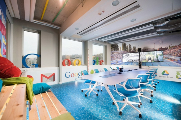 ofis inovativen google budapeshta basein