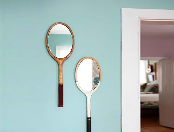 ogledalo reciklirane tenis nachini
