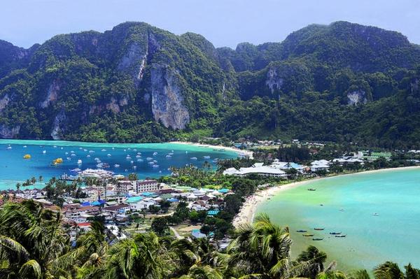 ostrovi tailand ko phi phi arhipelag