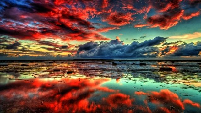 otravenie voda oblaci cherveni