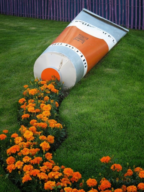 monreal botanicheska gradina na oranjevi cvetq