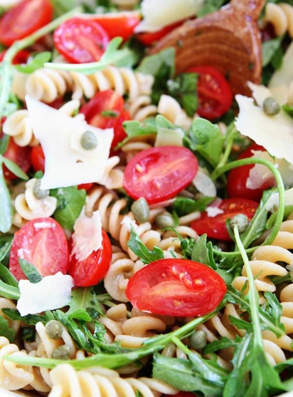 recepta italianska salata rukola pasta