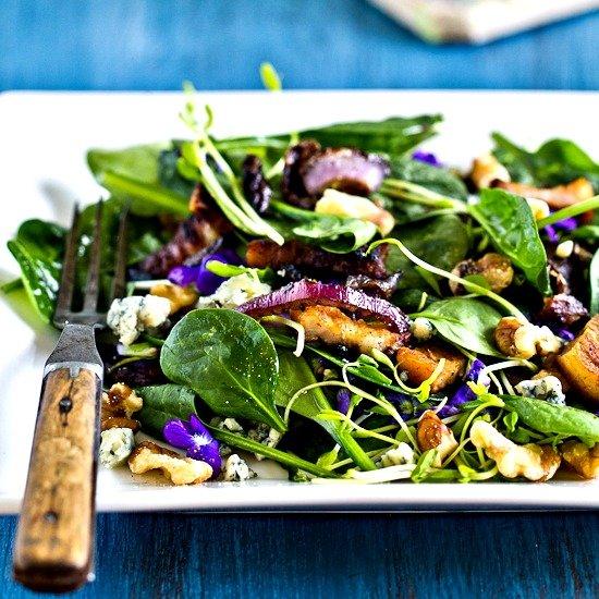 recepta salata spanak temenujki