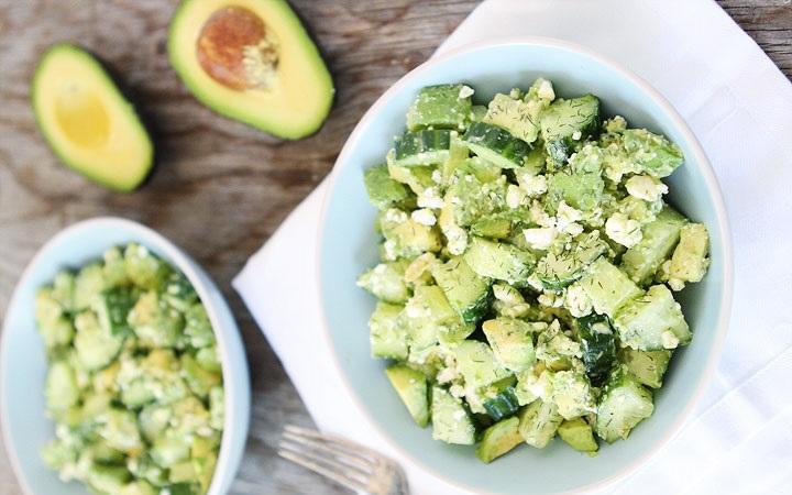 recepta za salata s krastavica avokado i feta
