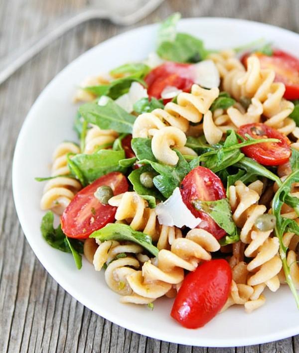 recepta za italianska salata s rukola pasta