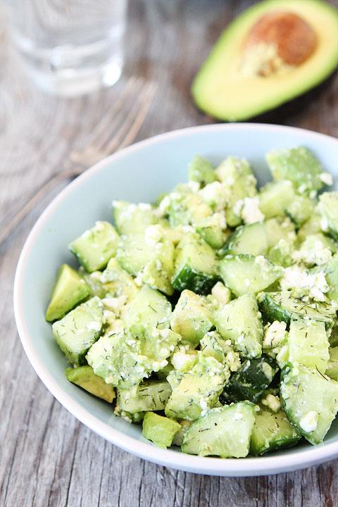 salata s krastavica avokado i feta