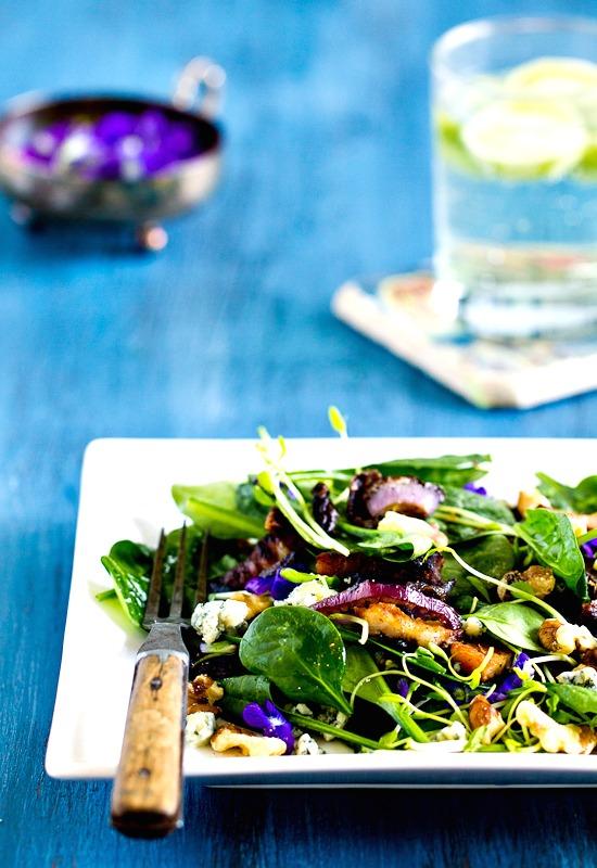 salata temenujki spanak recepta