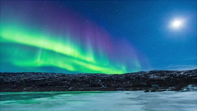 severno siqnie ezero aurora