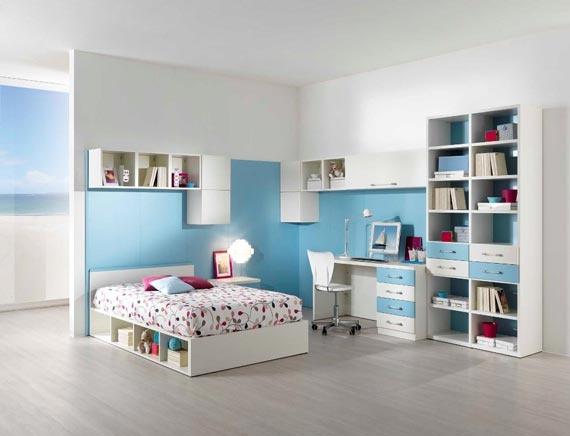 детска стая синьо за момчета ламинат