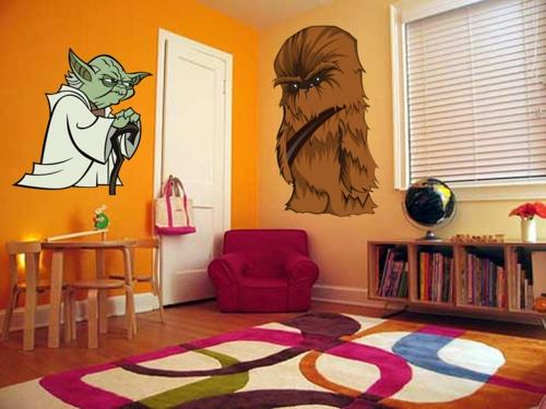 стикери за стена детска стая идеи интериор