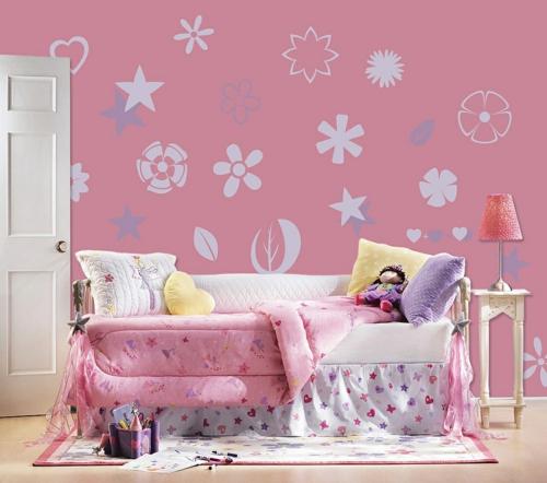 стикери за стена на детска стая за момиче