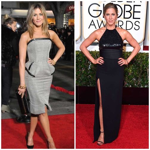 stilat na jenifer aniston cherven kilim