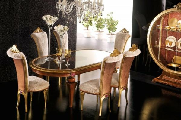 trapezariq stolove   luksozen stil