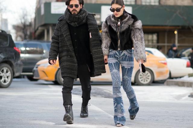 street style ot nu iork sedmicata na modata couple