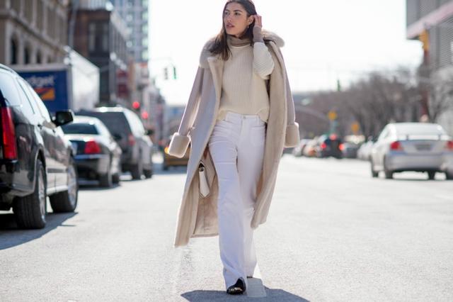 street style ot nu iork sedmicata na modata monohrom