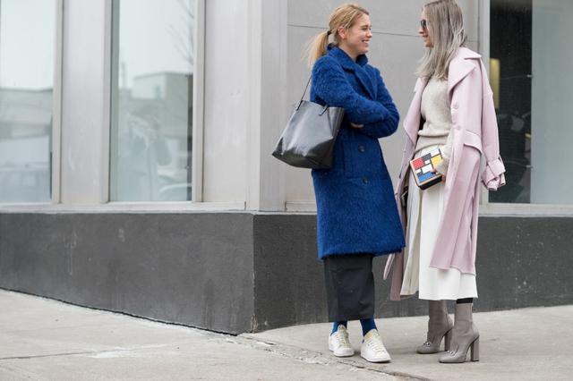 street style ot nu iork sedmicata na modata palta
