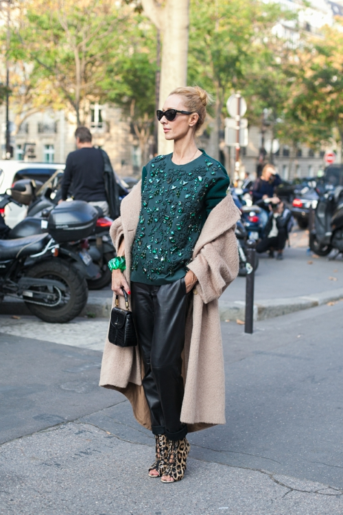 street style parij palto