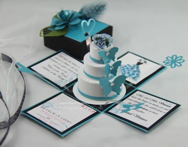svatbena pokana torta