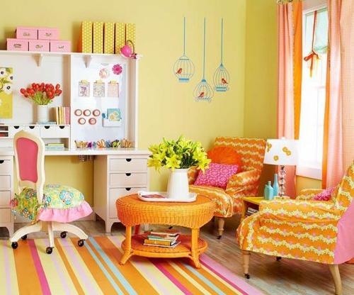 стикери за стена на детска стая за момиче обзавеждане идеи