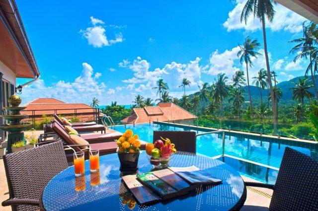 Ko Samiu tailand luksozn -vili SamuiSunrise