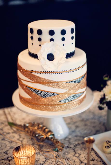 krasiva svatbena torta