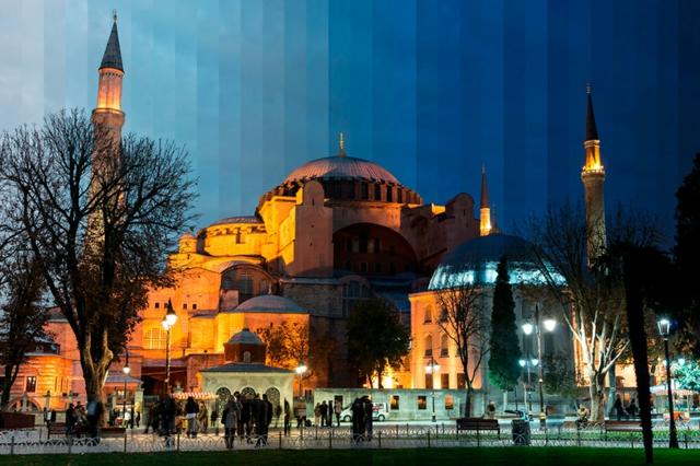 turciq fotografii hagia sophia