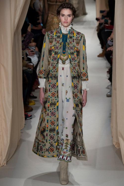 valentino vissha moda prolet 2015 parij