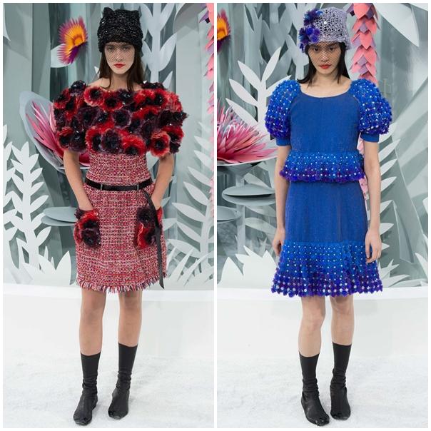 vissha moda chanel 2015 florali